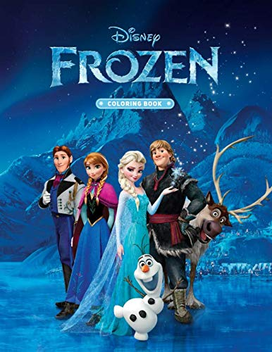 Frozen Coloring Book: High Quality Coloring Book For Kids .