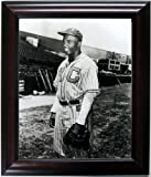 Jackie Robinson Framed & Mated Photograph Finest Quality Reproduction.