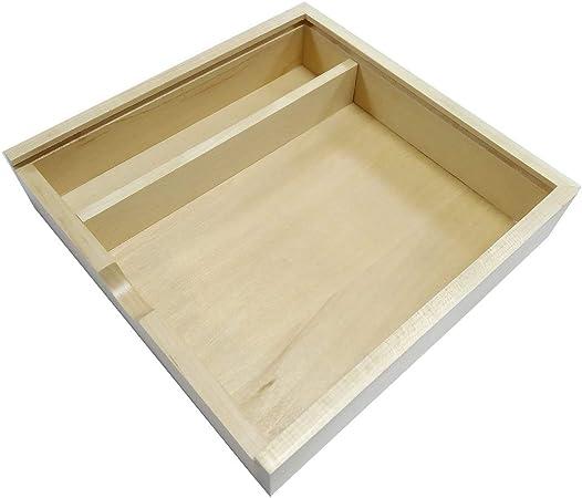 vbncvbfghfgh Caja de álbum de Fotos de Madera de Arce/Nogal de Moda Caja de colección de álbumes creativos Caja de artesanías Álbum Caja de Regalo de Madera: Amazon.es: Hogar