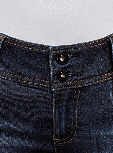 7900w Skinny Oodji Media Blu Ultra A Jeans Donna Vita tv8Zq