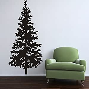 Amazoncom Christmas Tree Wall Decal Vinyl Christmas Tree Decor