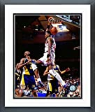 Patrick Ewing New York Knicks NBA Action Photo (Size: 26.5'' x 30.5'') Framed