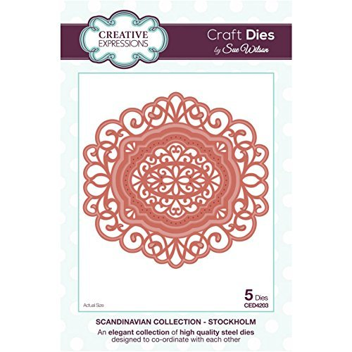 Creative Expressions Stockholm Die Set by Sue Wilson - Scandinavian Collection - CED4203 by Sue Wilson