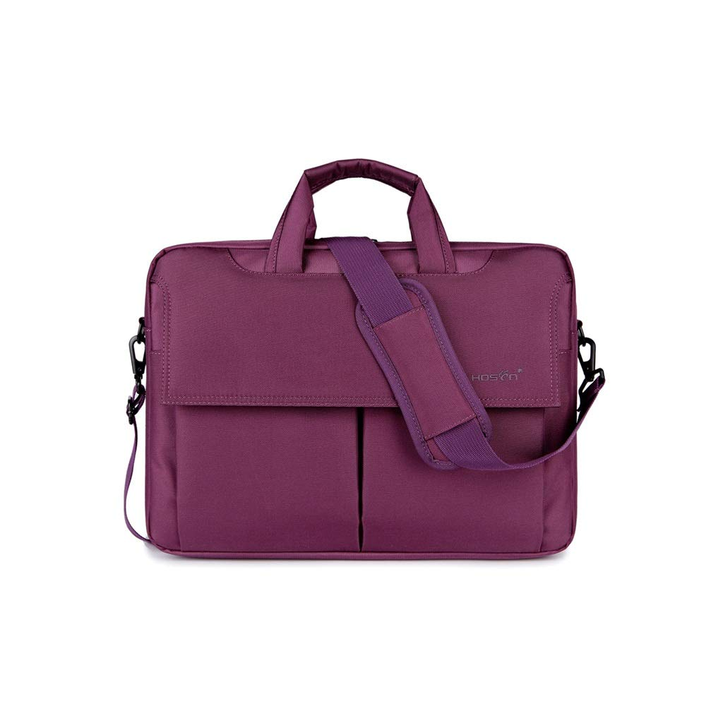 QSJY File Cabinets 15.6-inch Game Book with One Shoulder Backpack Shockproof and Waterproof (Color : Purple, Size : 39×7×29cm) by QSJY File Cabinets