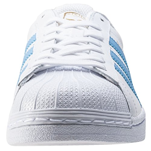 Trainers Blu Originals Foundation Mens Wht Lace 6 Adidas Superstar Up Casual B70qWw1
