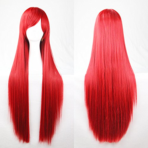 red 100 cm wig - 1