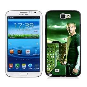 SevenArc Paul Walker Samsung Galaxy Note 2 N7100 2D Case 2014 New Style Case For Paul Walker Fans