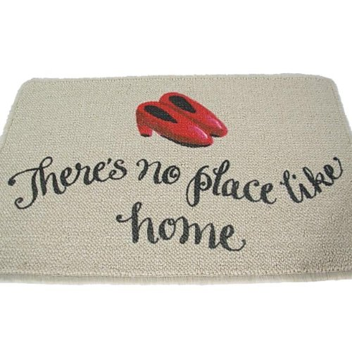 Wizard Of Oz Door - High Cotton There's No Place Like Home Doormat