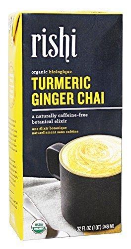 Rishi Tea Bev Turmeric Ginger Chai Con, 32 oz