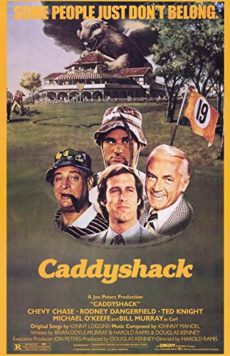 Pop Culture Graphics Caddyshack (1980) - 11 x 17 - Style A (Caddyshack Movie Poster)