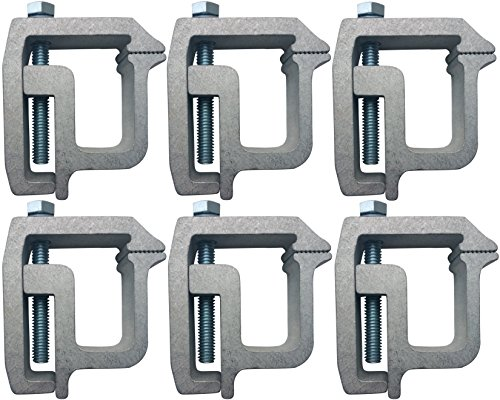 (Tite-Lok Tl-2002 Truck Cap Topper Mounting Clamp (6 Pack))