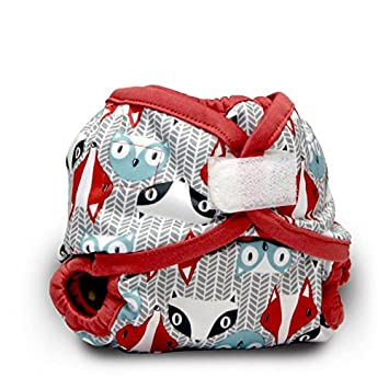 Rumparooz Newborn Cloth Diaper Cover Aplix, Phantom CVNB2021AX