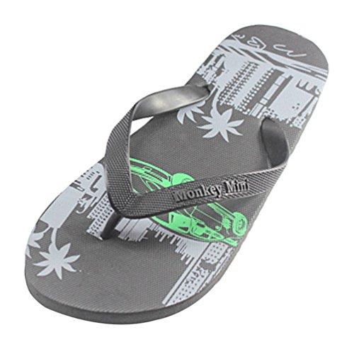 Heheja Chanclas Hombre Zapatillas de Playa Verano Unisex Adulto Sandalias Como la Imagen2