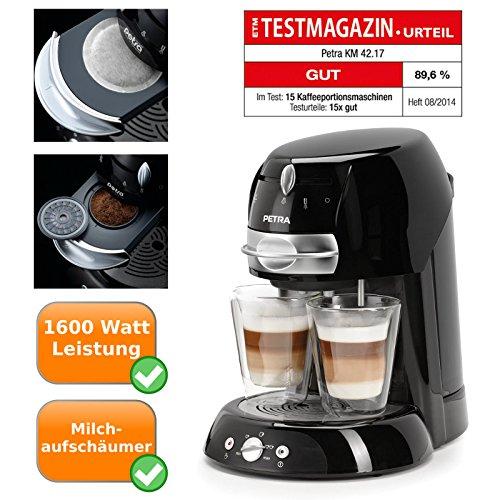 Cafetera Pad - artenso Latte - Cafetera con Cappuccinatore - Pad ...