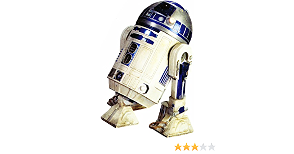 Wigglewalls 6 Inch R2 D2 Droid R2d2 Artoo Detoo Astromech Droids Star Wars Episode Iv 4 A New Hope Removable Wall Decal Sticker Art Home Decor Kids Room 4 Inches Wide By 6 Inches Tall
