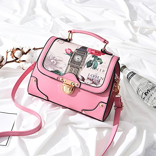 Main Bandoulière En Mode À De De À Femmes Frais Petit Bandoulière Épaule Sac Main La Pink Seule À En Sacs MDRW qO6wEE