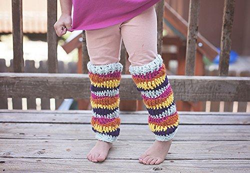 Rainbow Leg Warmers Crochet Pattern Crochet Pattern Kindle