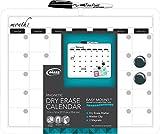 """: Board Dudes 11"""" x 14"""" Plastic Framed Magnetic Calendar (CYM19)"""