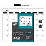 Board Dudes 11-Inch X 14-Inch Plastic Framed Magnetic Calendar (12032UA-4)