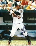 Autographed Alexi Casilla Picture - 8x10 W COA AT BAT - Autographed MLB Photos