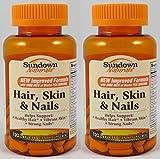 Best Sundown Naturals Vitamins For Nails - Sundown Naturals Hair, Skin & Nails, 120 Caplets Review