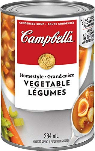 Campbell's Homestyle Vegetable Soup, 284ml (Imported from Canada)
