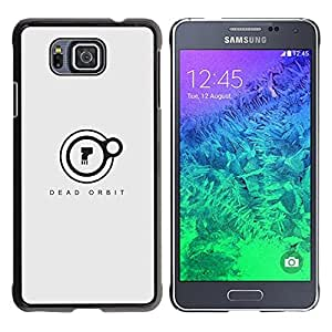 EJOY---Cubierta de la caja de protección la piel dura para el ** Samsung ALPHA G850 ** --Orbit Dead
