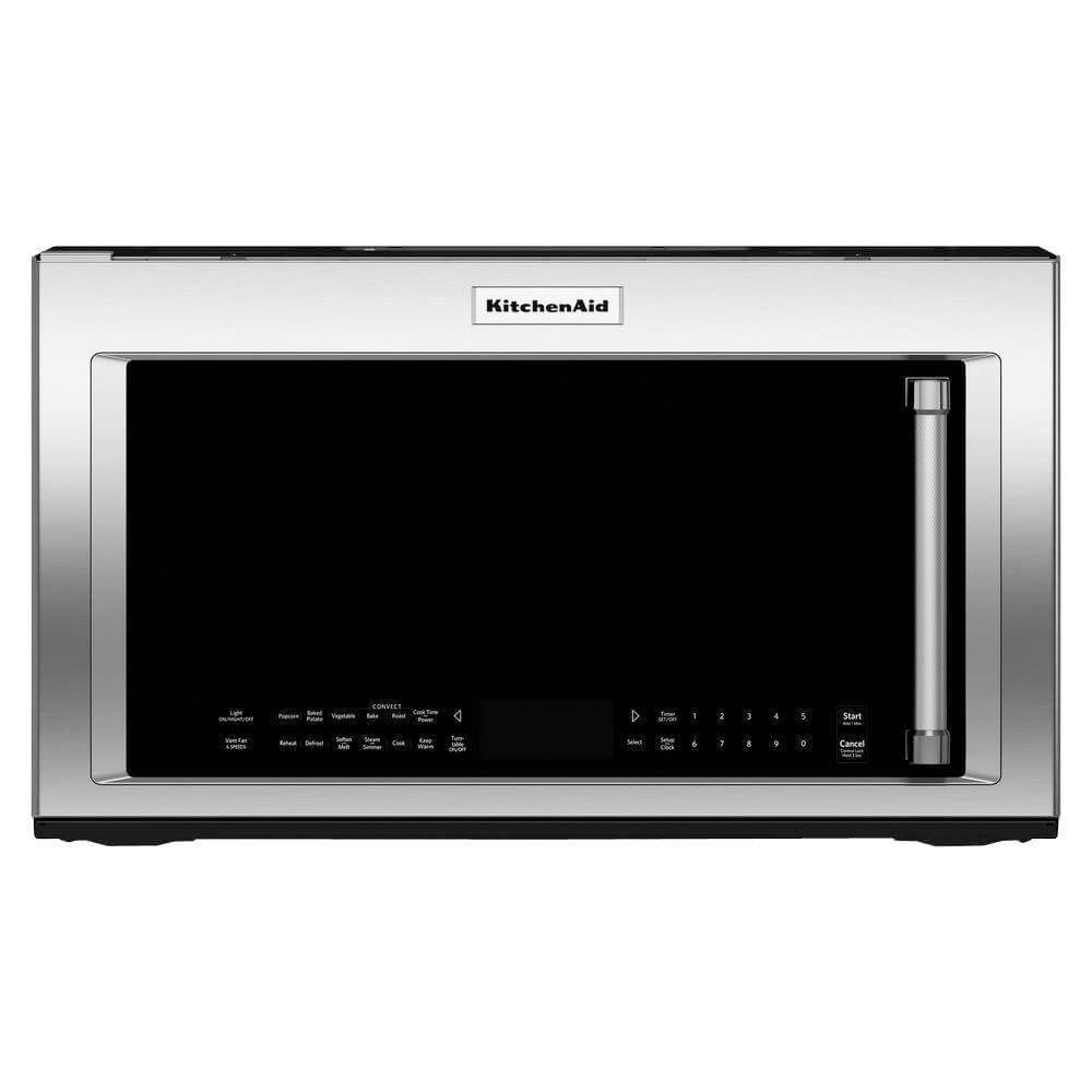 Kitchen Aid KMHC319ESS 1.9 Cu. Ft. 1000W Stainless Over-The-Range Microwave by KitchenAid