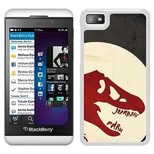 Jurassic Park White New Design Phone Case For Blackberry Z10 Case