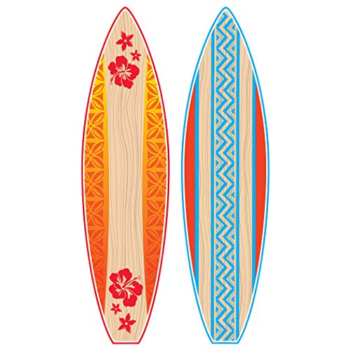 Teacher Created Resources TCR5090 Giant Surfboards Bulletin Board Display Set, Paper, Multi -