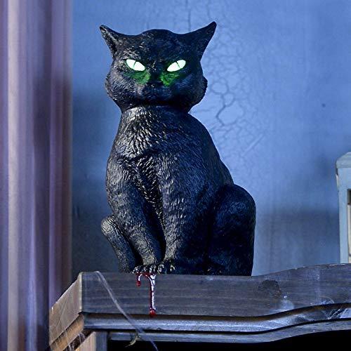 Animated Halloween Cat (Halloween Animated Black Cat)