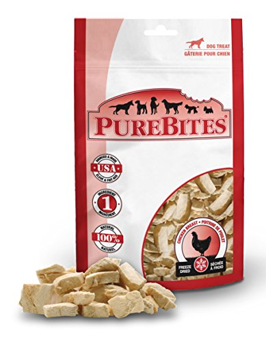 PureBites Chicken Breast for Dogs, 11.6oz / 330g - Super Value Size (Chicken Treats)