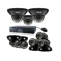 REVO America R165D3GT5G-2T 16 Ch. 2TB 960H DVR Surveillance System with 8 700TVL 100 ft. Night Vision Cameras