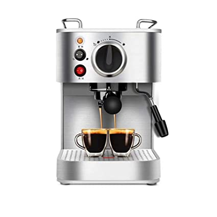 WY-coffee maker Máquina de café tirón semiautomático de Flores vaporizante Espuma 920W, 1.6