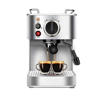 WY-coffee maker Máquina de café tirón semiautomático de Flores vaporizante Espuma 920W, 1.6L: Amazon.es: Hogar