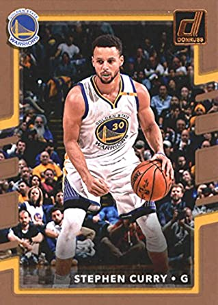 sale retailer aebf1 80924 Amazon.com: 2017-18 Donruss #46 Stephen Curry Warriors ...