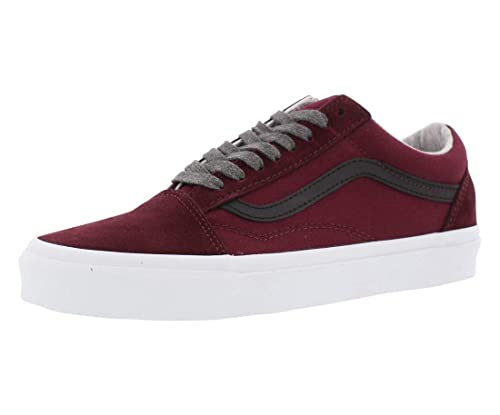 905756b037 Vans Mens Old Skool Jersey LACE Port Royale Black Size 6