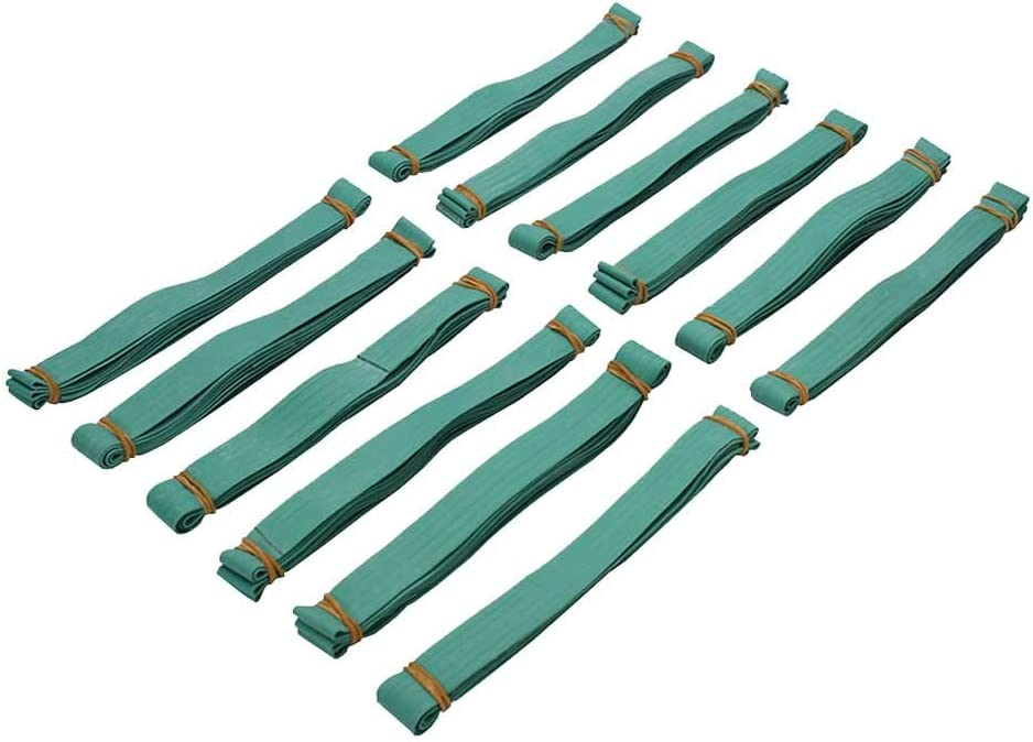 US Cargo Control Rubber Moving Bands - 30 Inch Unstretched - 60 Inch Fully Stretched - Green Moving Rubber Bands - Includes 12 Big Rubber Bands