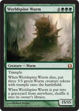Worldspine Wurm 140 Magic: the Gathering - Return to Ravnica by Magic: the Gathering