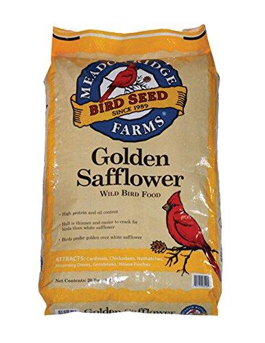 Meadow Ridge Farms Golden Safflower - 20 lbs by Meadow Ridge Farms
