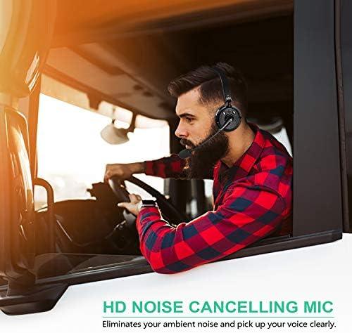 inal/ámbricos, con cancelaci/ón de ruido, para camiones, conductores, ordenadores, centros de oficina, Skype BlueFire Auriculares inal/ámbricos con micr/ófono