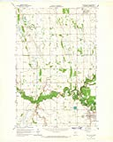 YellowMaps Twin Valley MN topo map, 1:24000 Scale, 7.5 X 7.5 Minute, Historical, 1965, Updated 1967, 27.23 x 21.53 in
