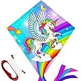 TOY Life Unicorn Kites for Kids Easy to Fly Kids