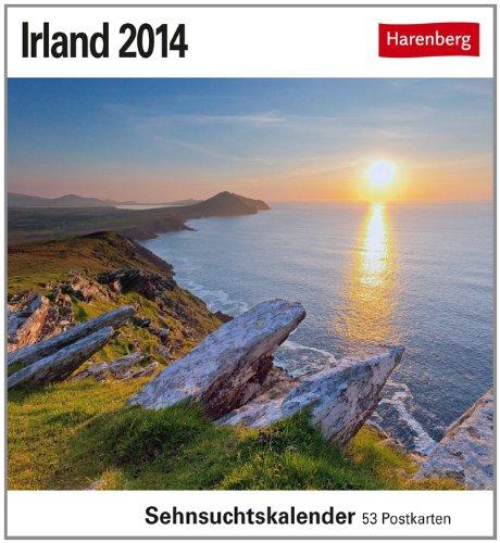 Irland 2014: Sehnsuchts-Kalender. 53 heraustrennbare Farbpostkarten