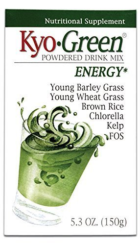 Kyolic Kyo-Green Energy Powered Drink Mix (5.3-Ounce) by Kyolic Kyo Green Drink