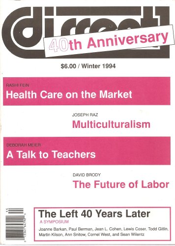 Dissent, 40th Anniversary Issue, Winter 1994