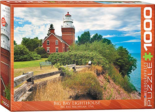 EuroGraphics Big Bay Lighthouse, Michigan Puzzle (1000-Piece) ()