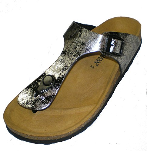 Dr.Brinkmann 701116 Women Clogs and Mules Silver iPlH5