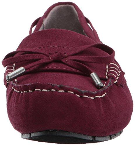 LifeStride Damen Valor Slip-On Loafer Dunkelrot