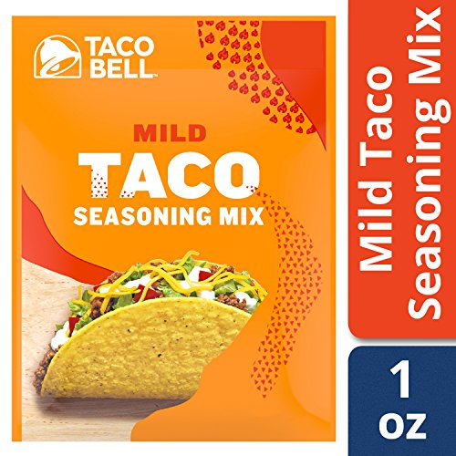 Taco Bell Mild Seasoning Mix (1 oz Packets Pack of 24)